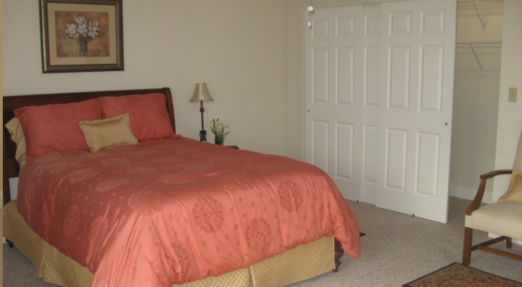 Large Master Bedroom with Ample Space