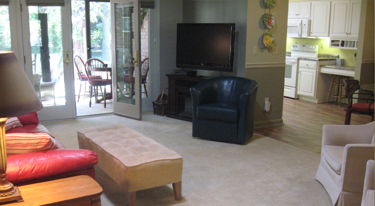 Spacious and Open Great Room