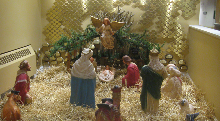 See Our Nativity Display