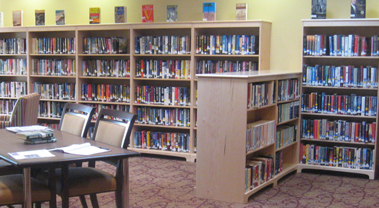Donation Makes Library Possible