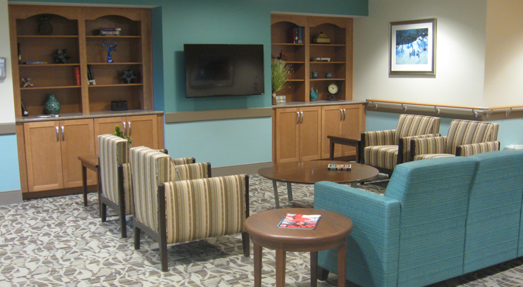 Improvements and Additions Campus Wide - Short Term Rehab Lounge