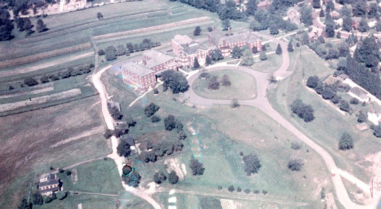 An Aerial View From the 1950s